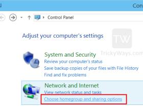 在Windows 8 / 8.1上创建HomeGroup并设置HomeGroup共享设置