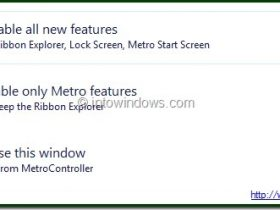 禁用Windows 8 Metro UI