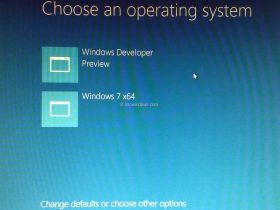 双启动Windows 8.1与Windows 7