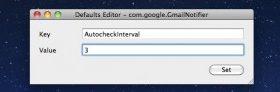 更改Gmail通知程序邮件检查频率