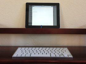 使用蓝牙键盘与iPad