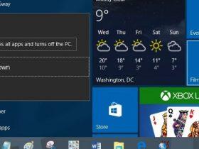 键盘快捷键关闭或休眠Windows 10