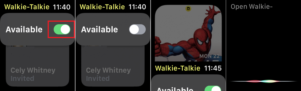 如何在Apple Watch上使用Walkie-Talkie应用程序
