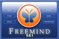 FreeMind Mind Mapping软件为所有平台