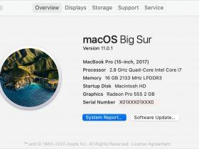 macbookair2020怎么看系统配置参数